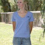 Grand Meadows Ladies V-neck T